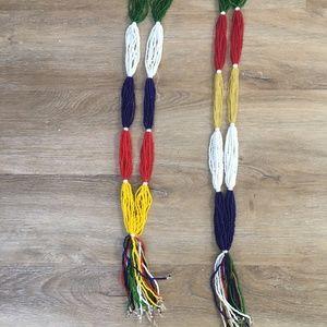 Authentic Ethiopian bead necklaces